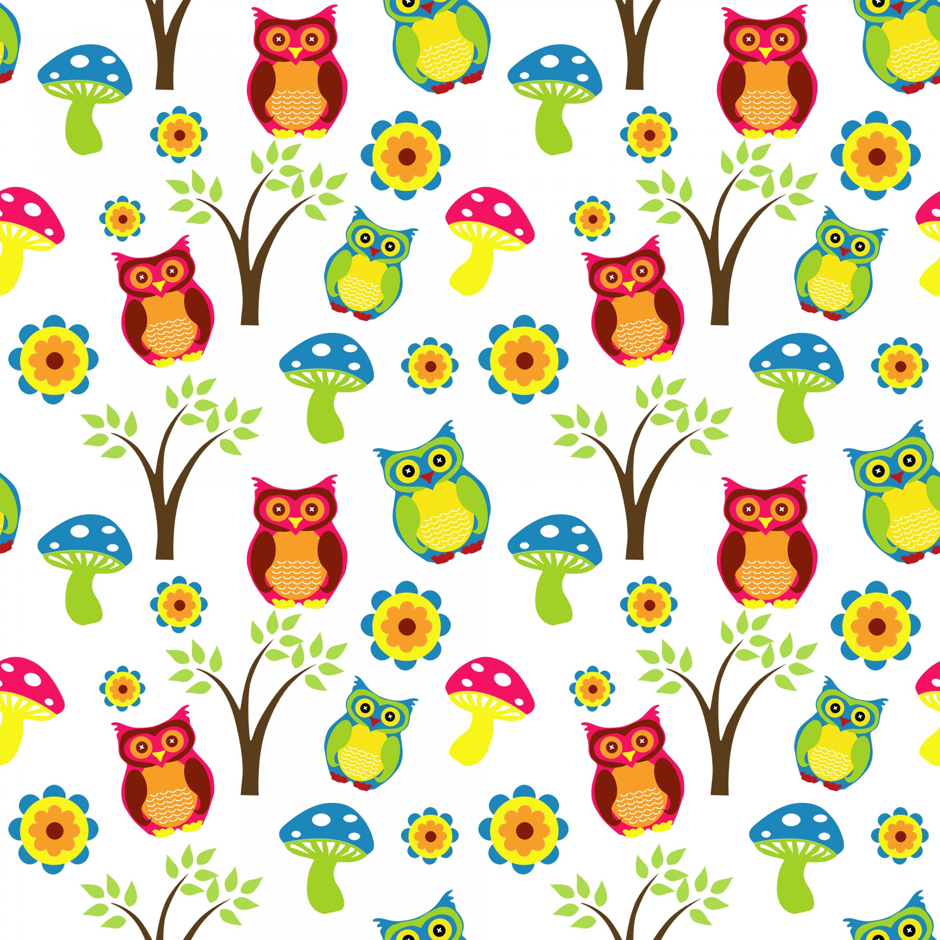 cute-owl-wallpaper-pattern